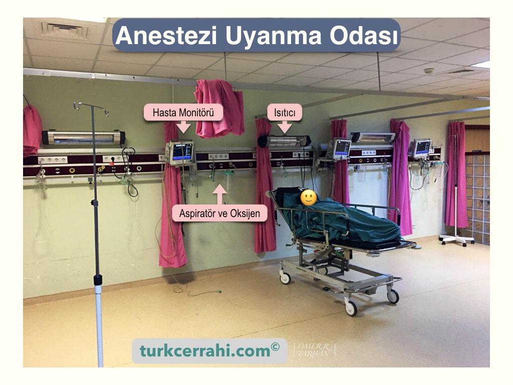 Anestezi uyanma odası