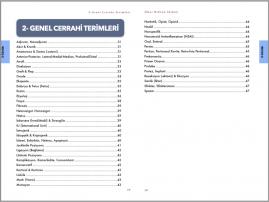 Genel Cerrahi Kitabı İçindekiler - 5 (A4)