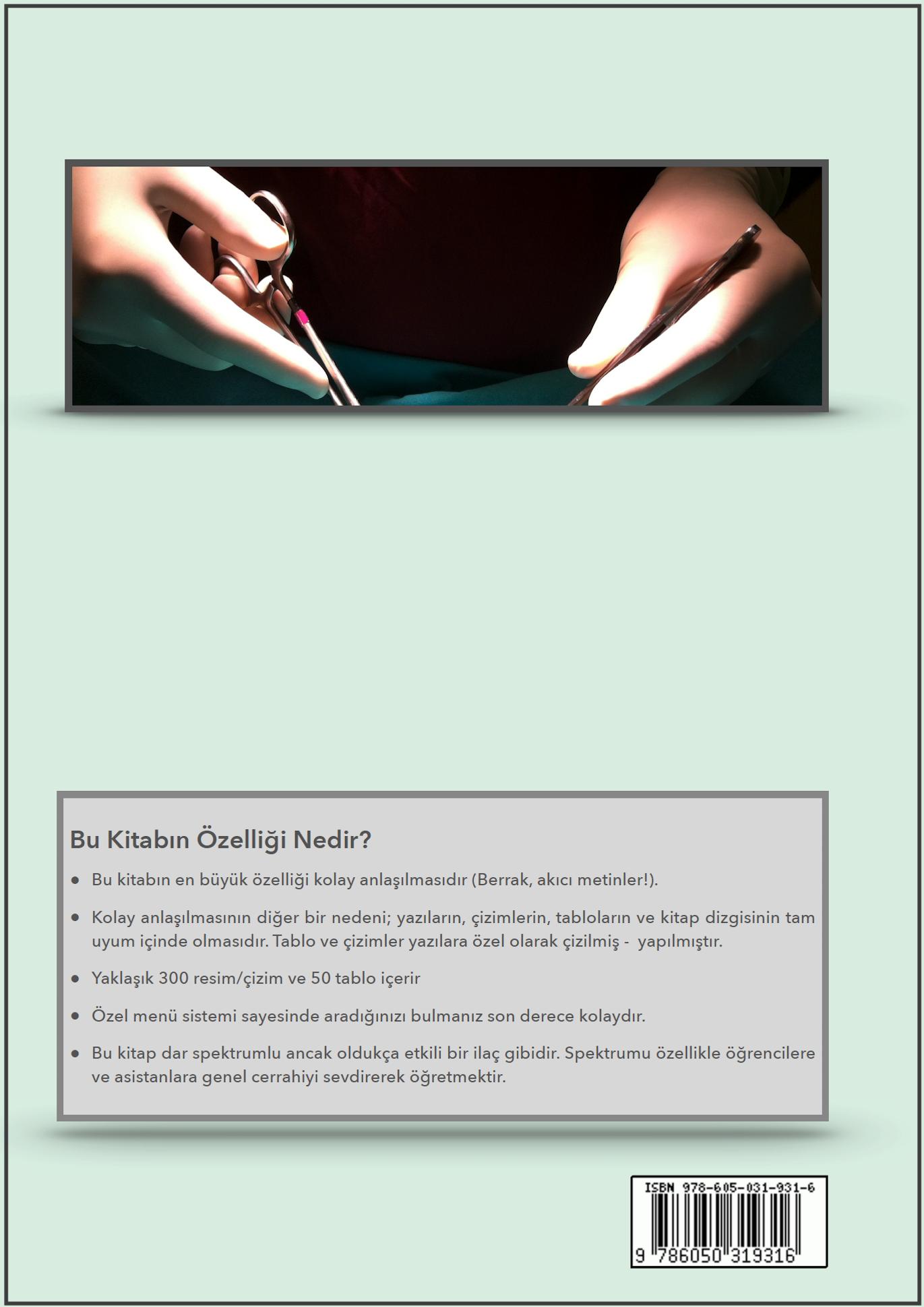 Genel Cerrahi Kitabı Arka Kapak (A4)